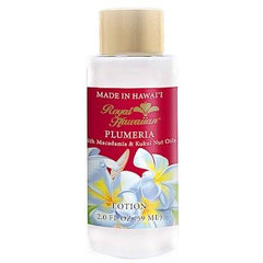 Royal Hawaiian Body Lotion, Plumeria, 2oz