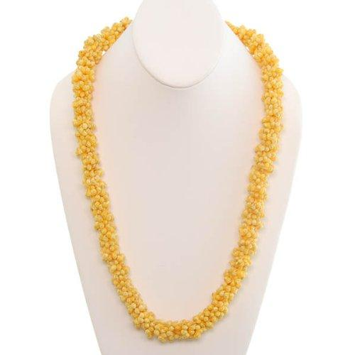Yellow Mongo Shell Lei - Leilanis Attic