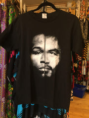 Pacquiao Split Men's Black T-Shirt