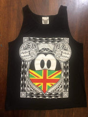 "PST Gear ""Hawaii Maoli Bandana"" Mens Black Tank - Leilanis Attic"