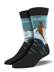"""Duke Legacy"" Size 10-13 Socks, Black - Leilanis Attic"