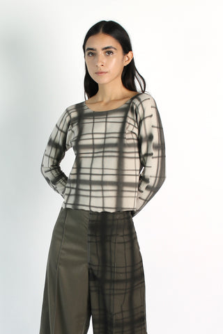 Plaid Air Long Sleeve