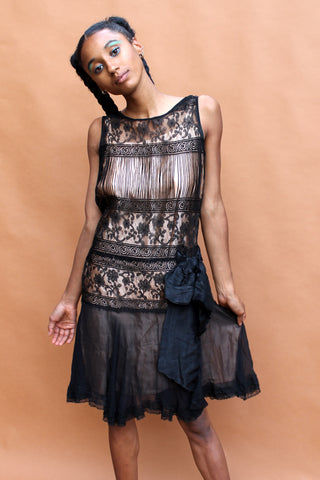 True Vintage 20s Flapper Dress