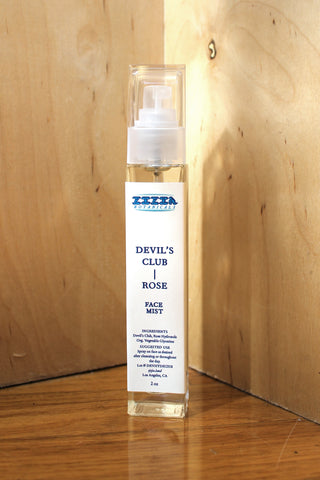 Cx72 x Zizia: Devil's Club Rose Face Mist