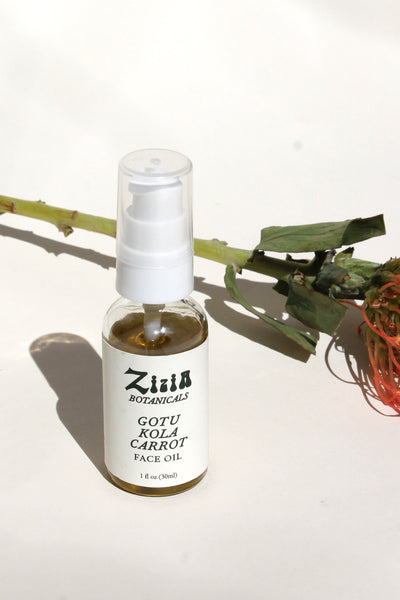 Gotu Kola Carrot Face Oil