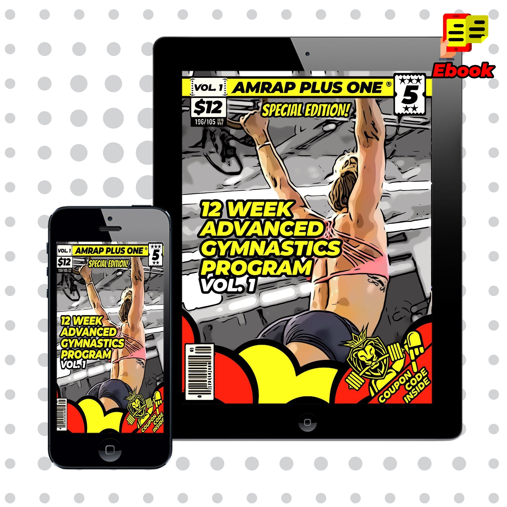 12-Week Advanced Gymnastics Program - AMRAP Plus One