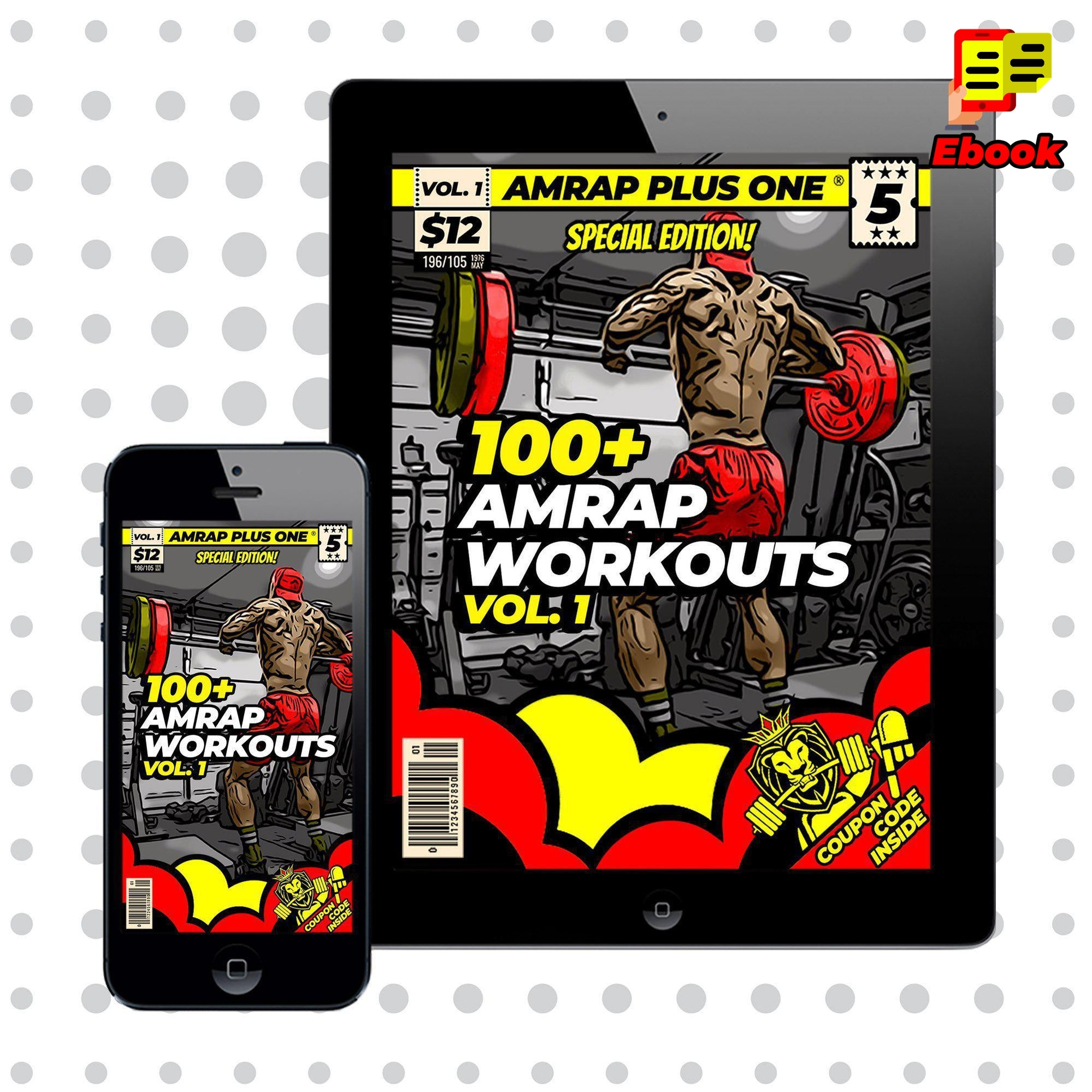 100+ AMRAP Workouts Vol. 1 - AMRAP Plus One
