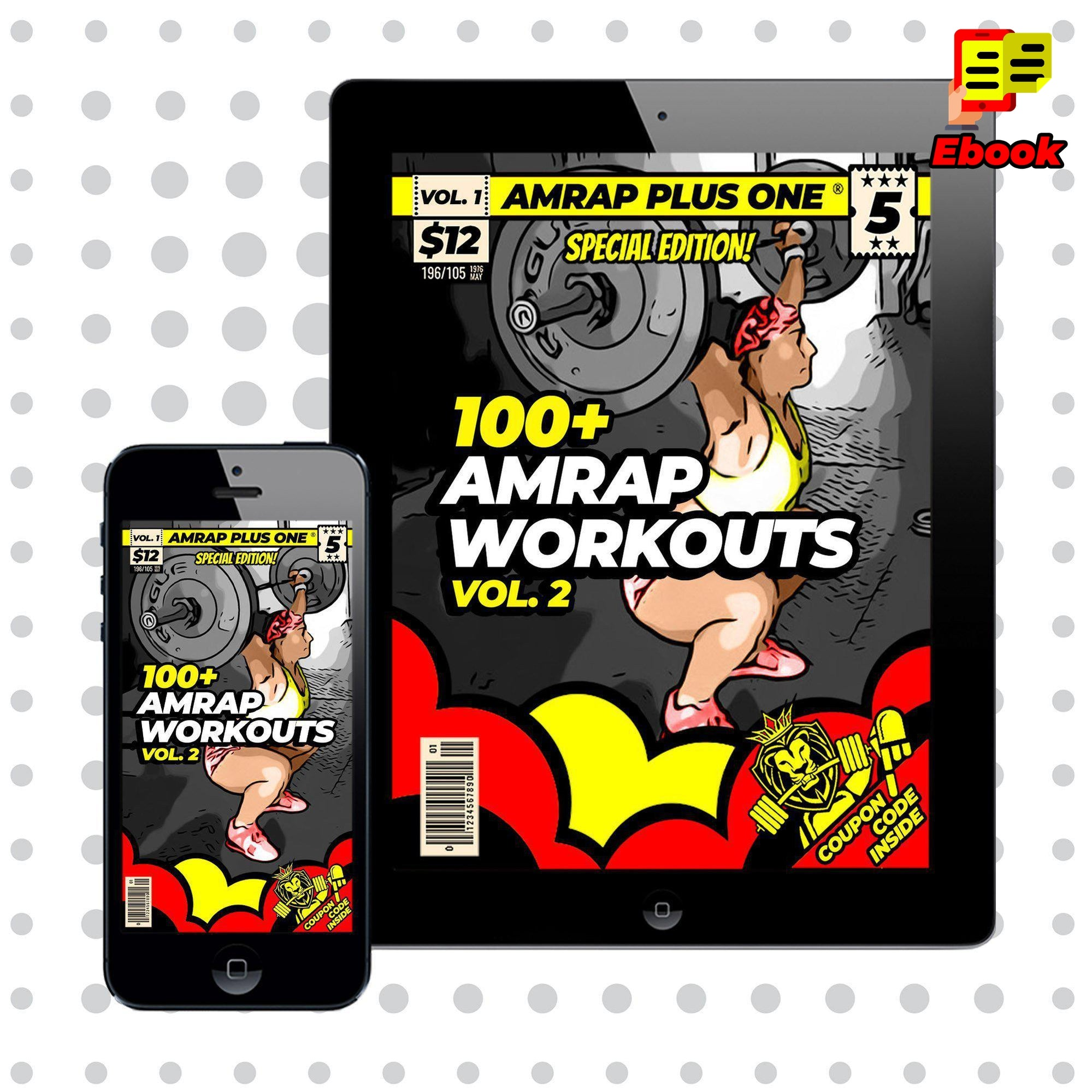 100+ AMRAP Workouts Vol. 2 - AMRAP Plus One