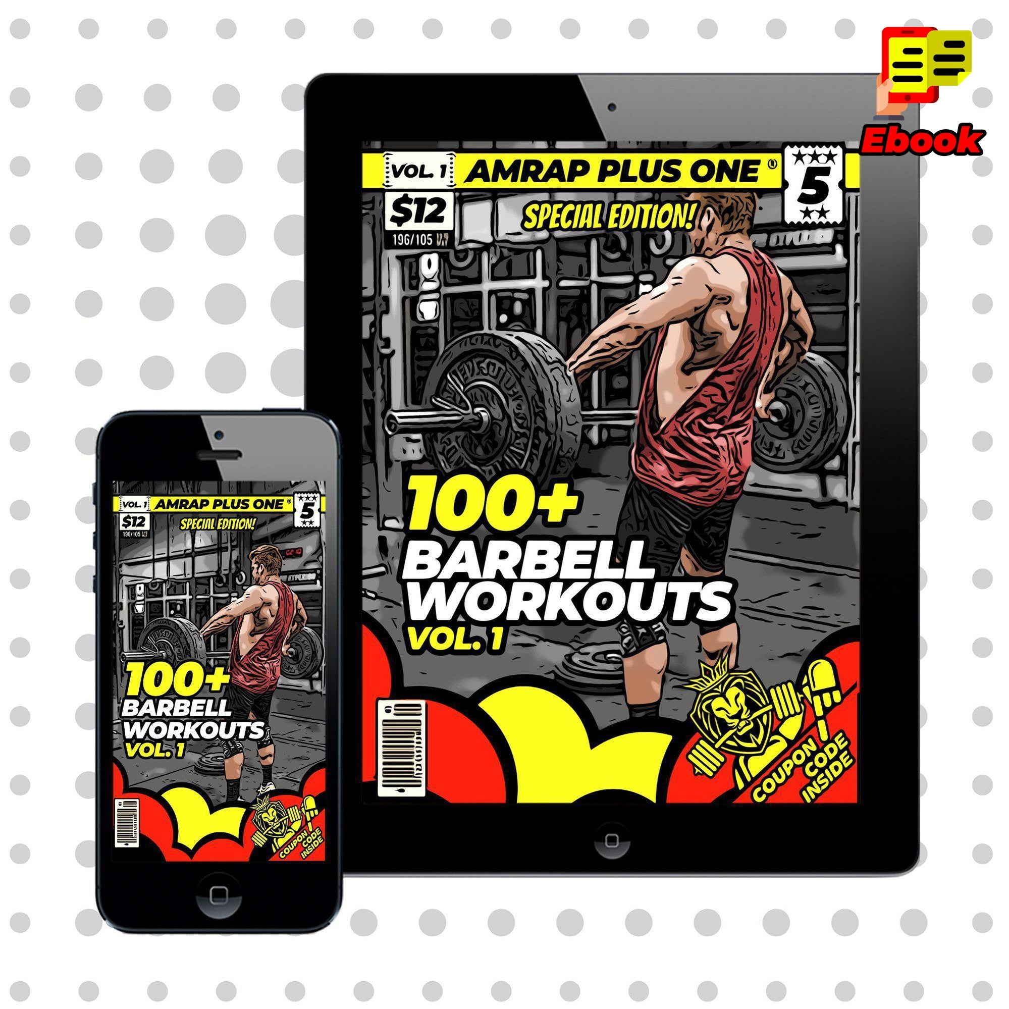 100+ Barbell Workouts Vol. 1 - AMRAP Plus One