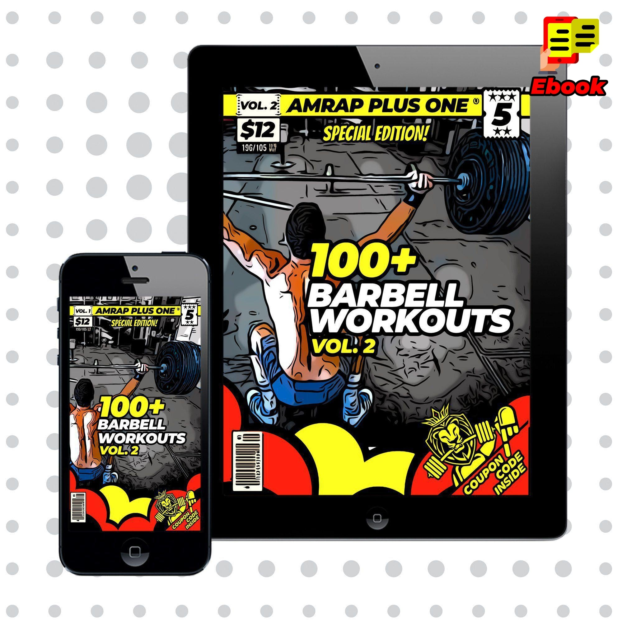 100+ Barbell Workouts Vol. 2 - AMRAP Plus One