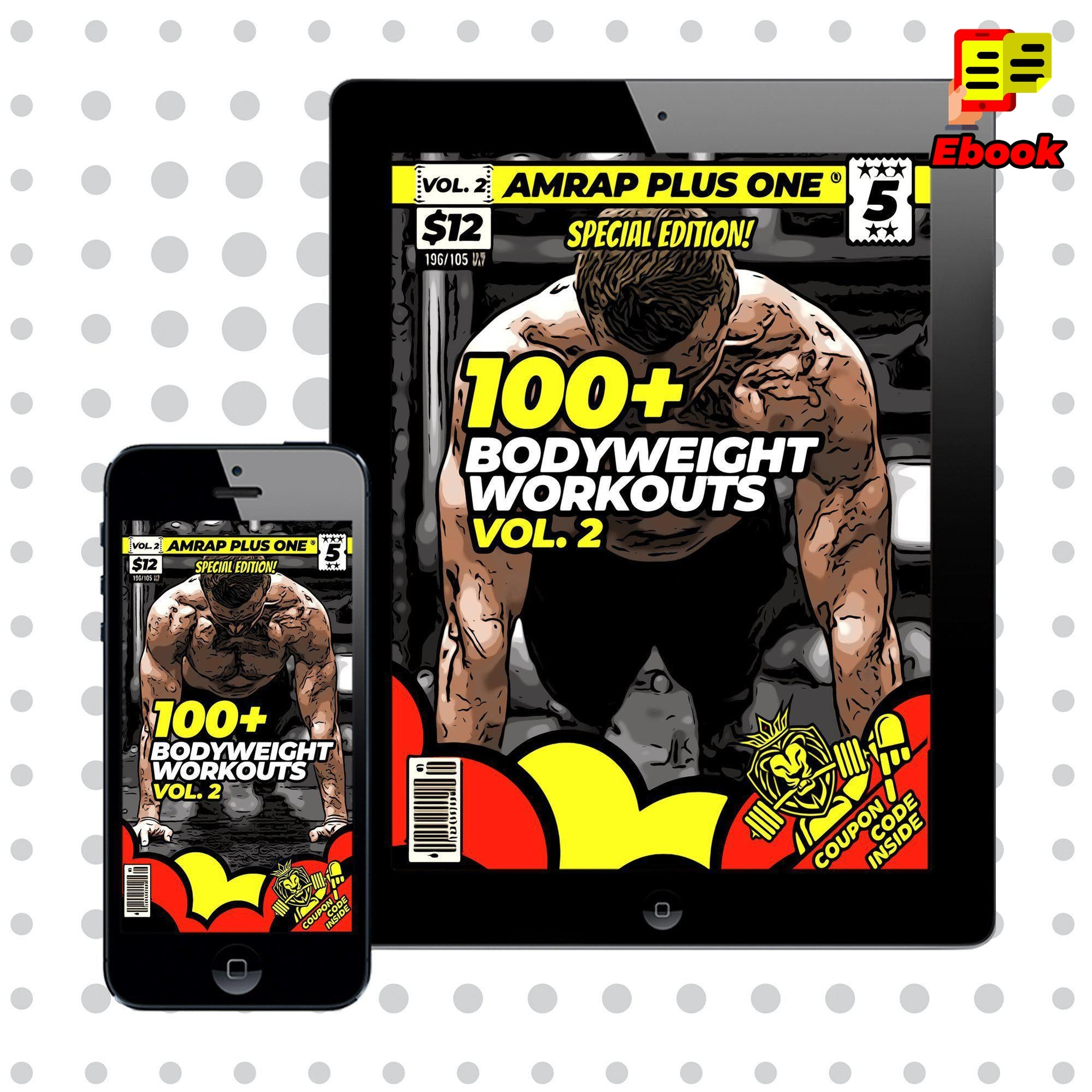 100+ Bodyweight Workouts Vol. 2 - AMRAP Plus One