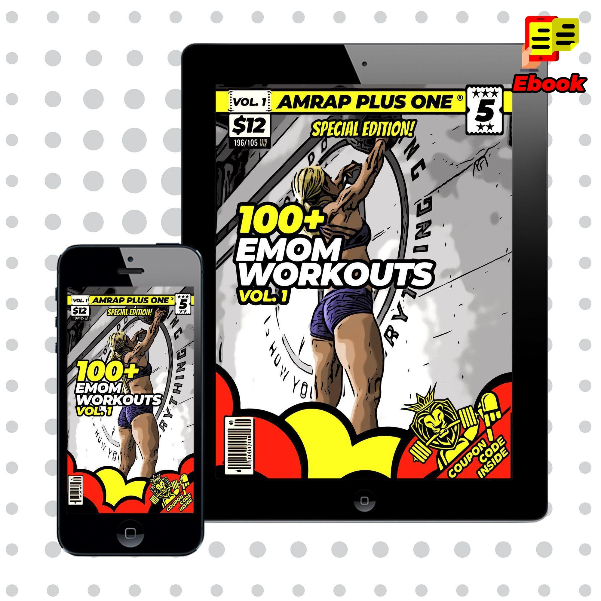 100+ EMOM Workouts Vol.1 - AMRAP Plus One
