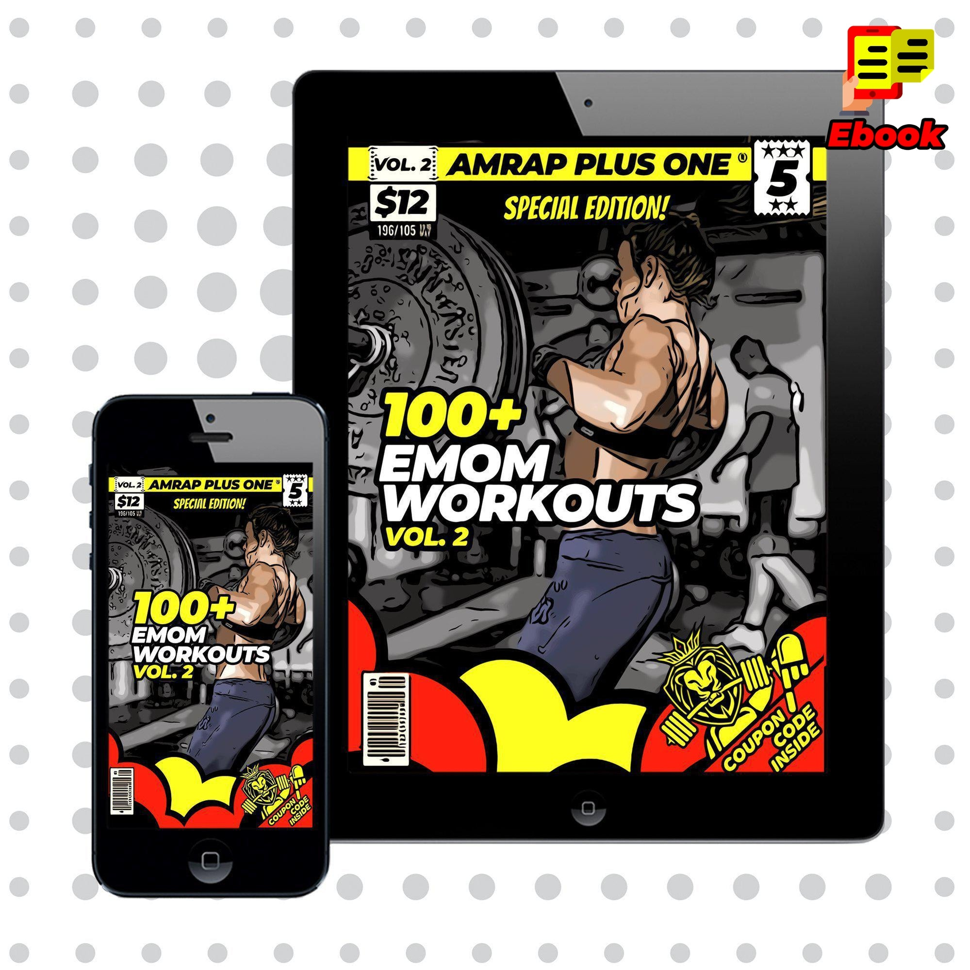 100+ EMOM Workouts Vol. 2 - AMRAP Plus One