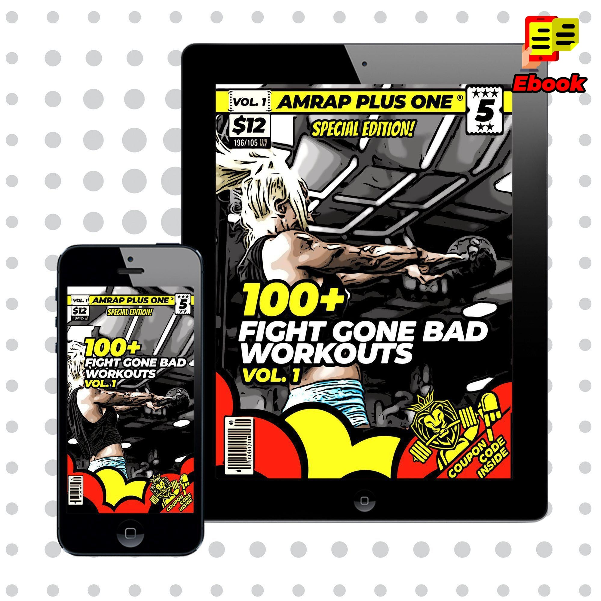 100+ Fight Gone Bad Workouts - AMRAP Plus One