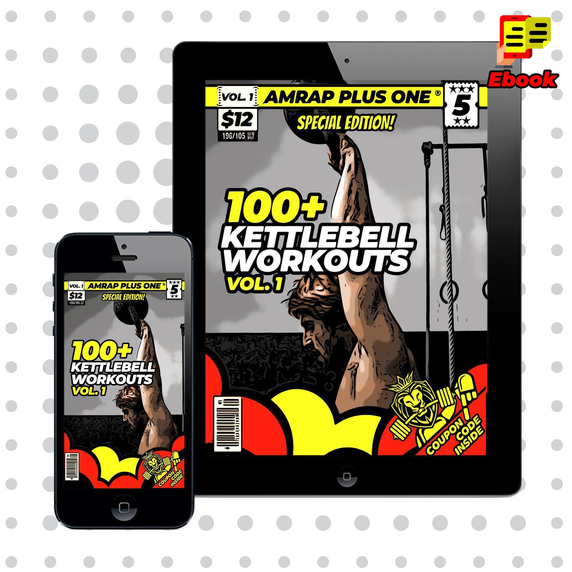 100+ Kettlebell Workouts Vol. 1 - AMRAP Plus One