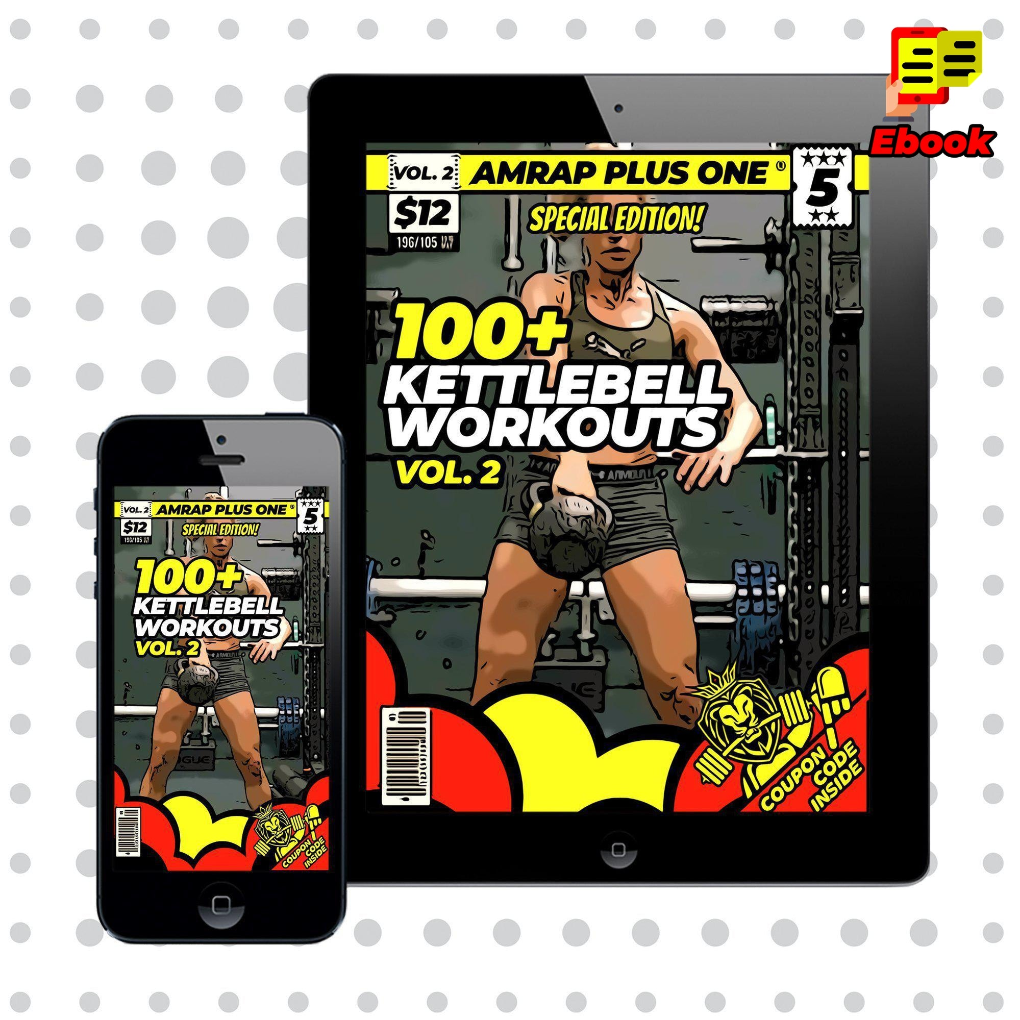 100+ Kettlebell Workouts Vol. 2 - AMRAP Plus One