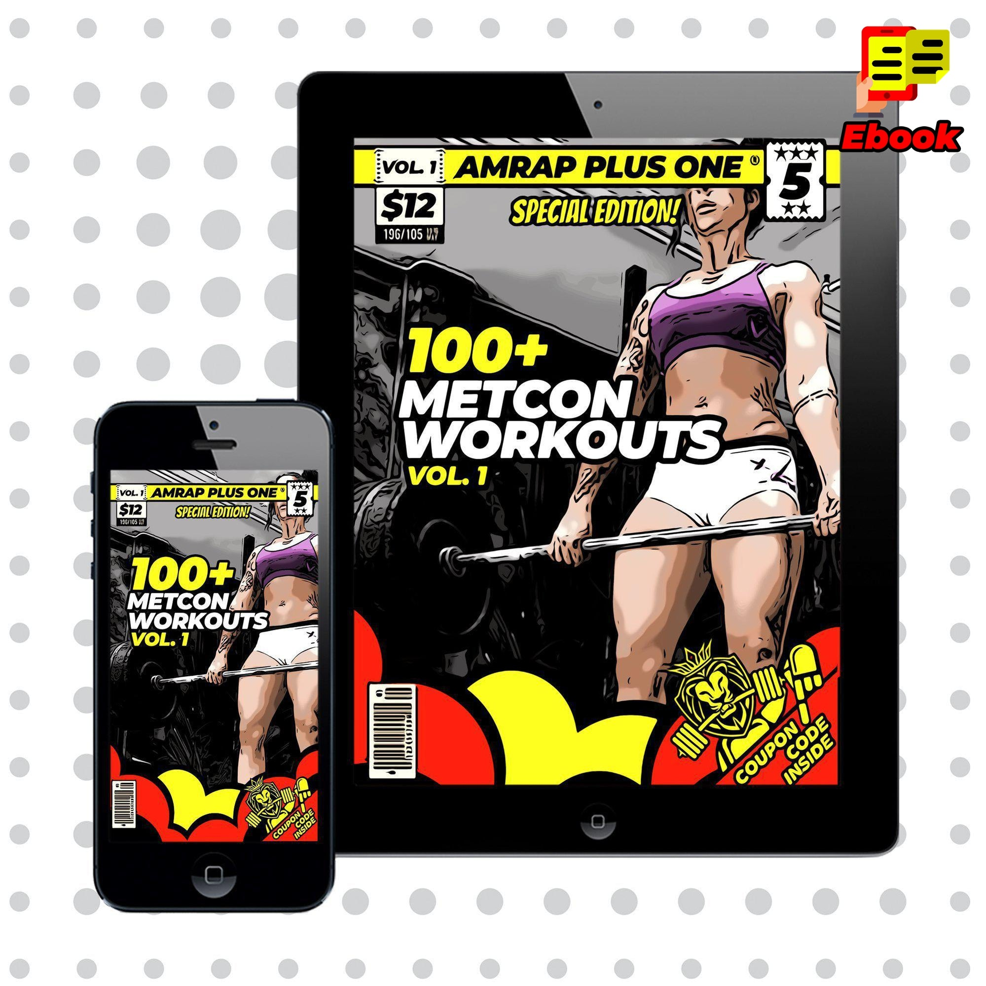 100+ METCON Workouts Vol. 1 - AMRAP Plus One