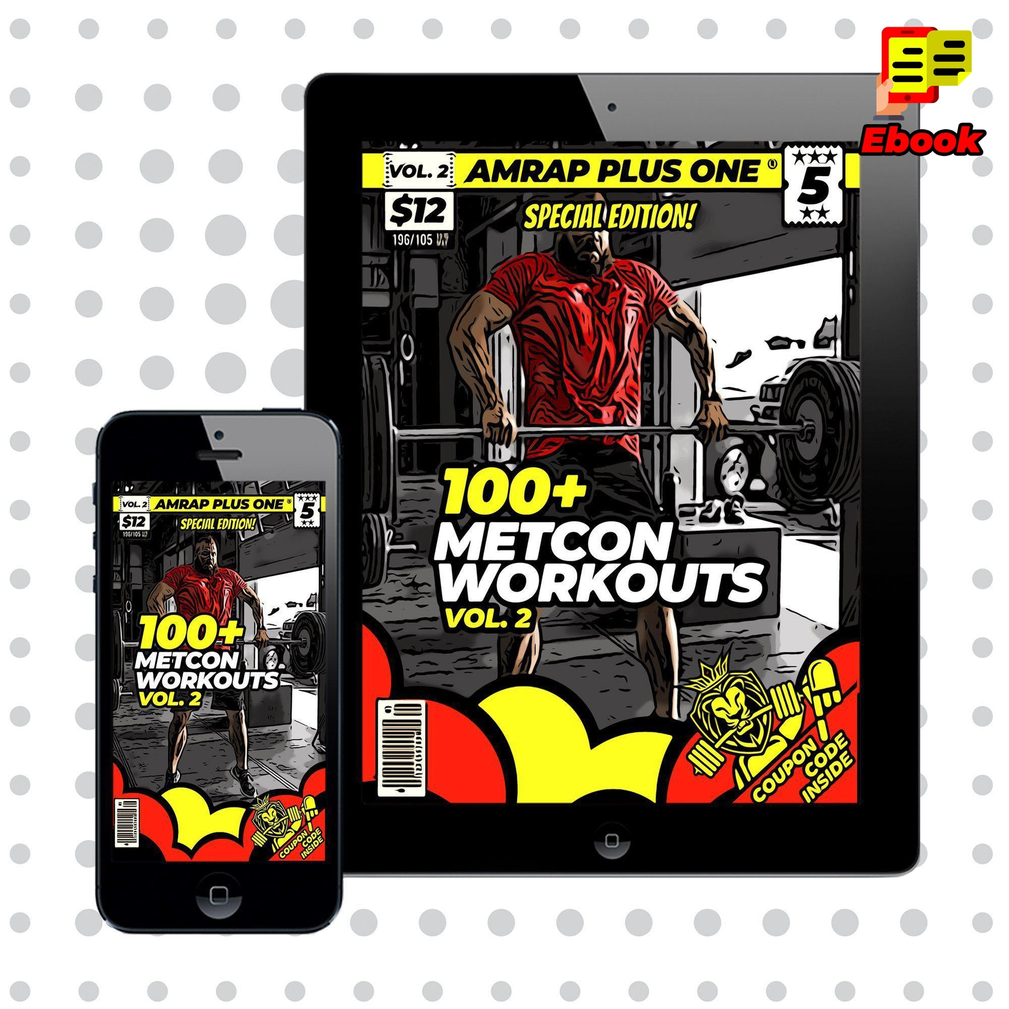100+ Metcon Workouts Vol. 2 - AMRAP Plus One