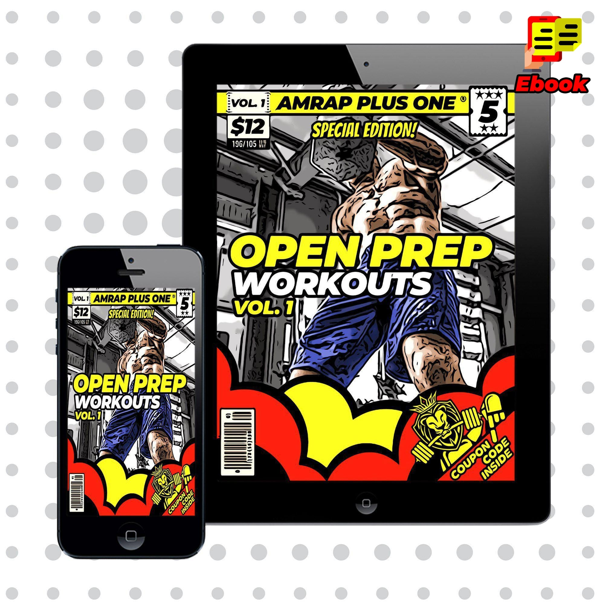 """Open Prep"" Workouts Vol. 1 - AMRAP Plus One"