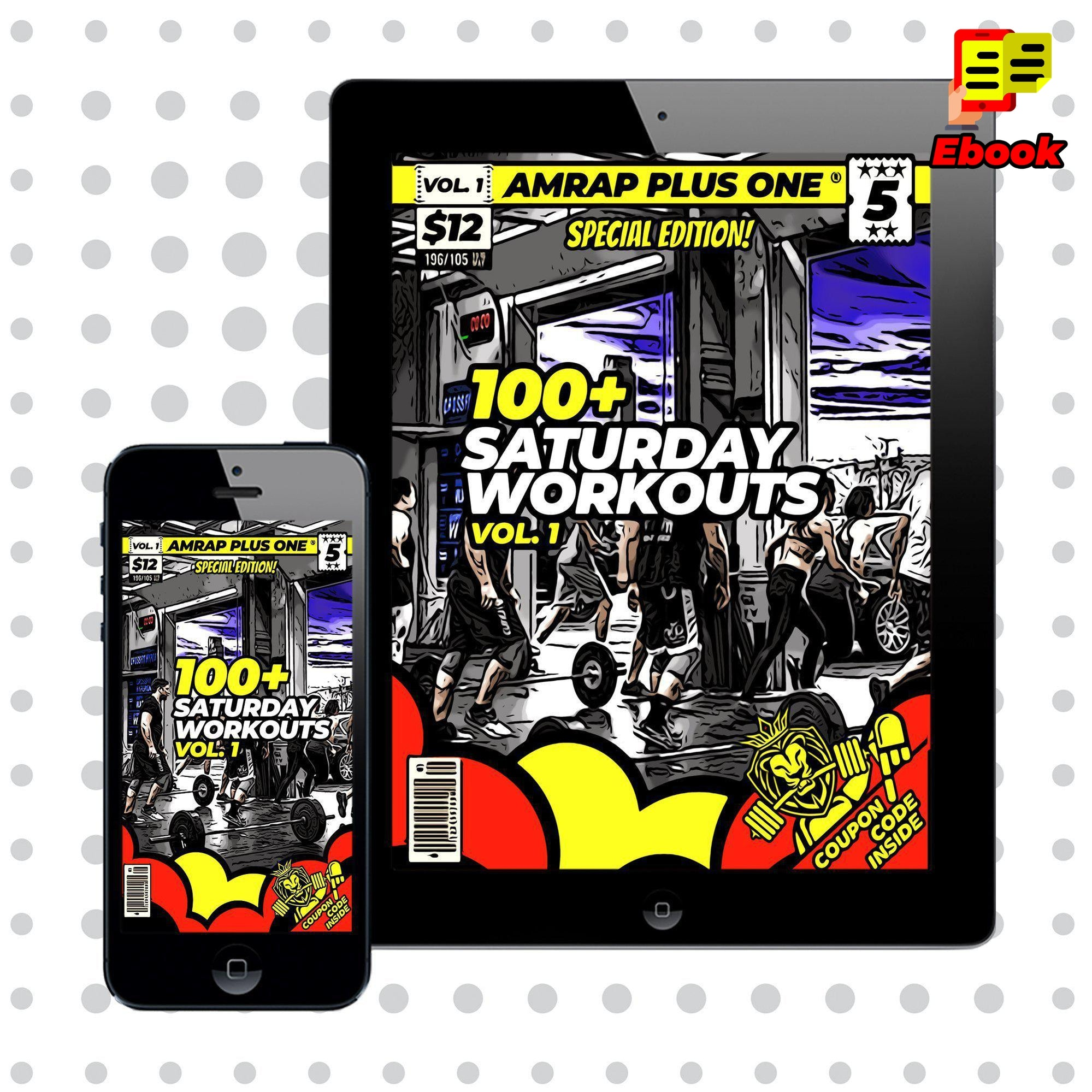 100+ Saturday Team Workouts Vol. 1 - AMRAP Plus One