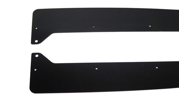 Side Skirt Extensions for 08-14 Subaru WRX / STI (GV)