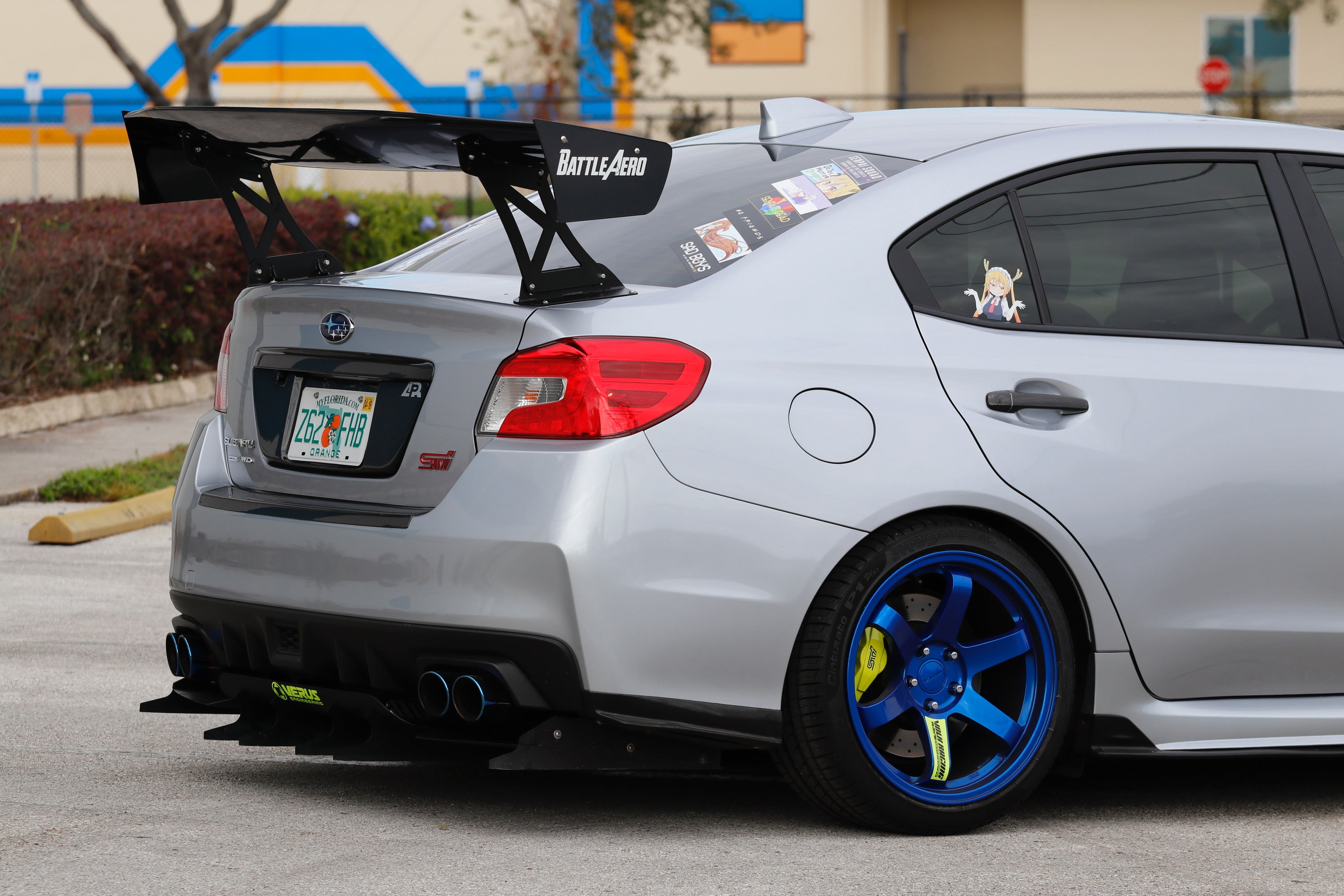 "Force 2 (66"") GT Wing for 2015+ Subaru WRX (VA)"