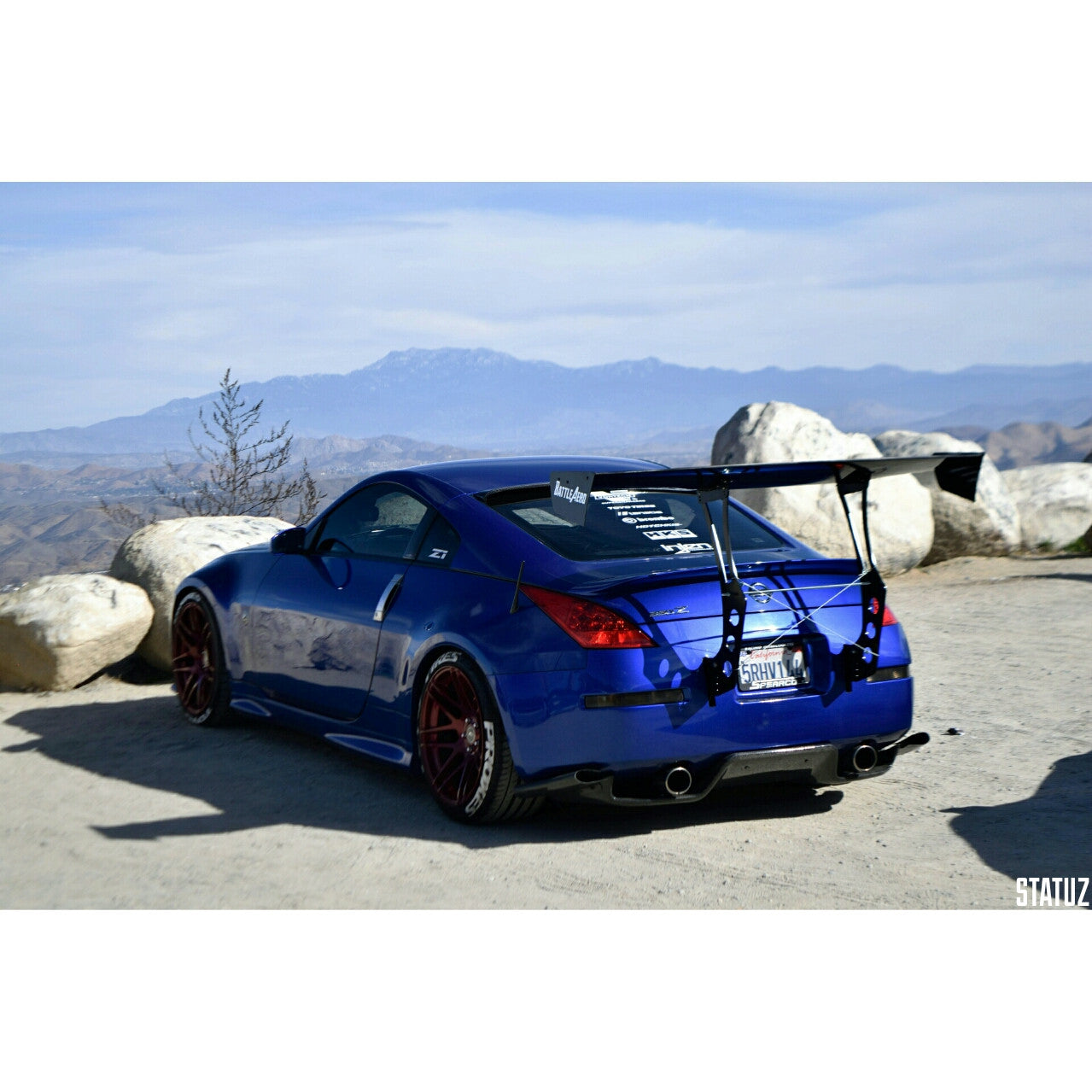Chassis Mount Kit for Nissan 350Z