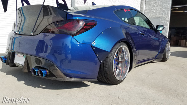 Widebody Fender Flare Kit for Hyundai Genesis Coupe