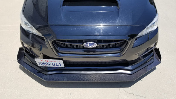 Chassis Mounted Splitter for 15-20 Subaru WRX / STI (VA)