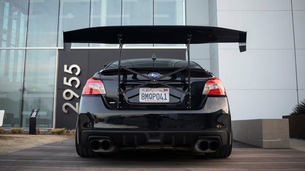 Trunk-Back Mount Wing for 15-20 Subaru Impreza WRX / STI (VA) Sedan