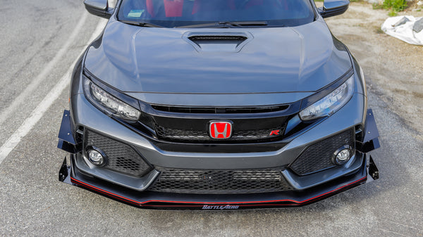 Front Bumper Lip Extension for Honda Civic Type R (FK8)