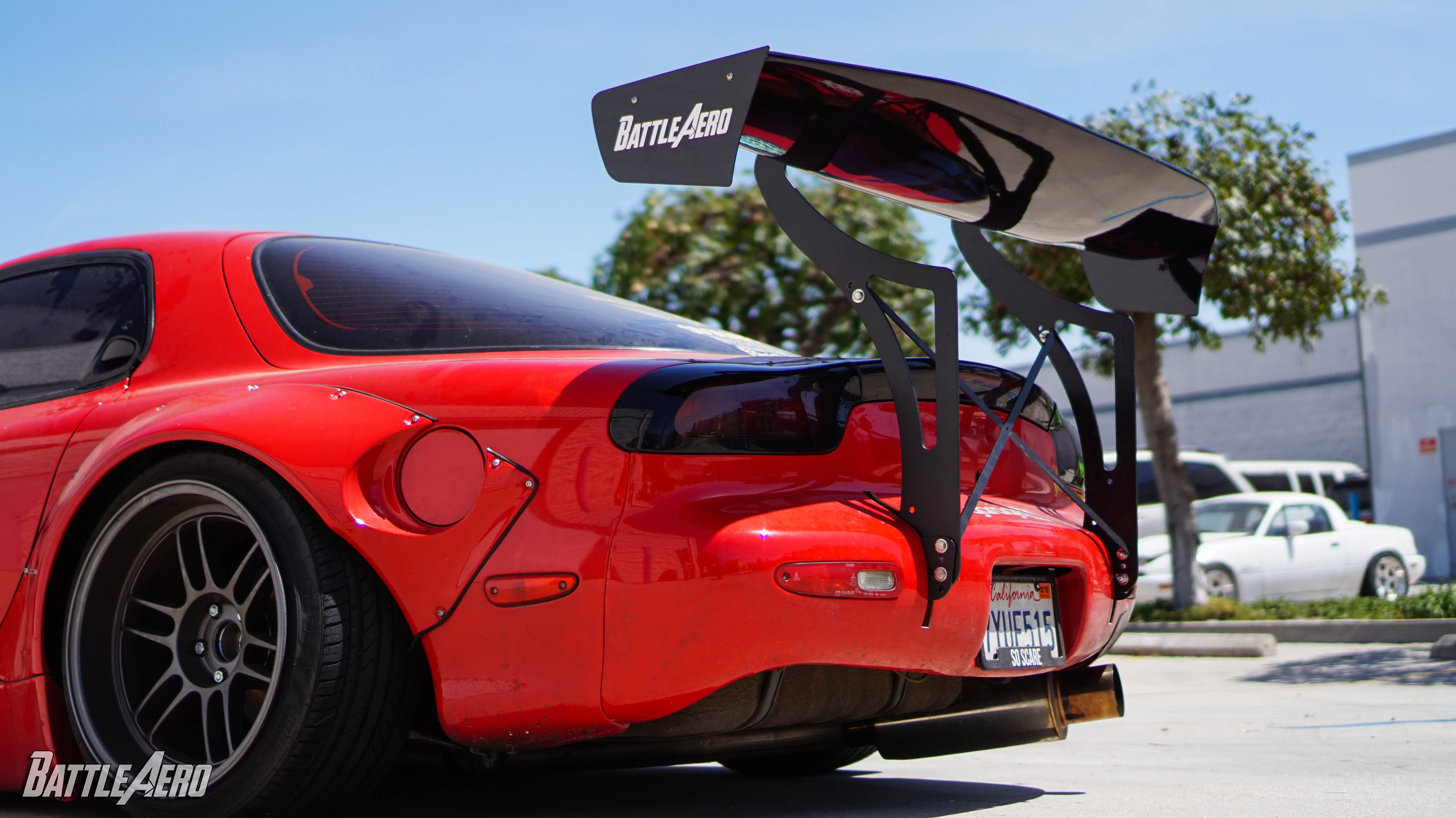 Swan Neck Chassis Mount Kit for Mazda RX-7 (FD)