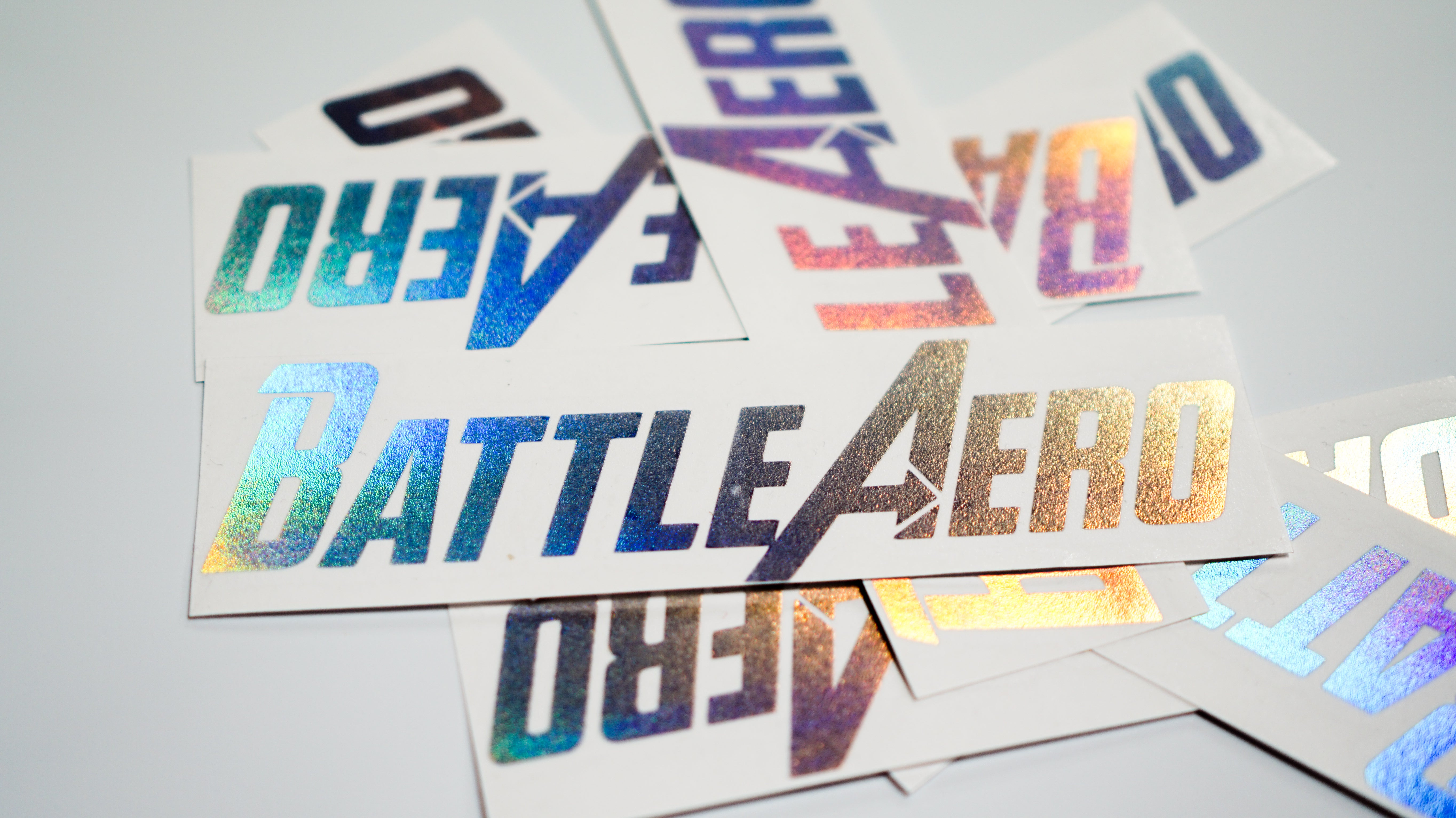 Small Logo Sticker Set