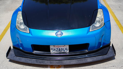 Chassis Mounted Splitter for Nissan 350Z