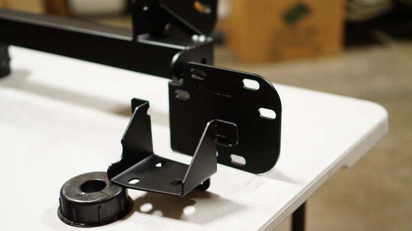 Swan Neck Chassis Mount Kit for Nissan 370Z