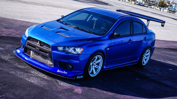 Chassis Mounted Splitter for Mitsubishi Lancer / EVO X