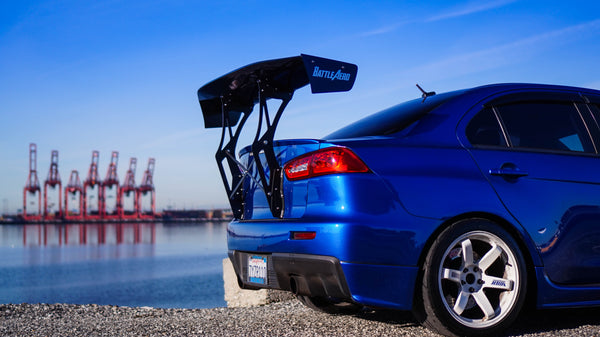 Trunk-Back Mount Wing for 08-15 Mitsubishi EVO X / Lancer