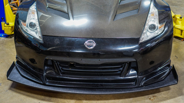 Chassis Mounted Splitter for Nissan 370Z
