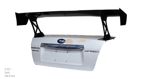 "Force 1 (62"") GT Wing for 08-14 Subaru WRX / STI (GV)"