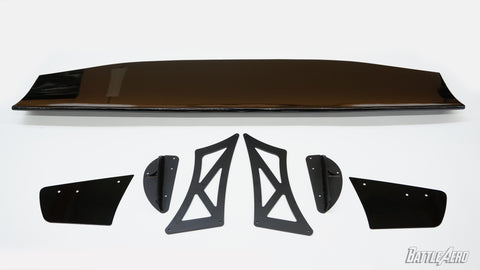 "Force 2 (66"") GT Wing V2 Tall Stands for EVO X"