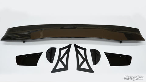 "Force 3 (70"") GT Wing V2 Tall Stands for EVO X"