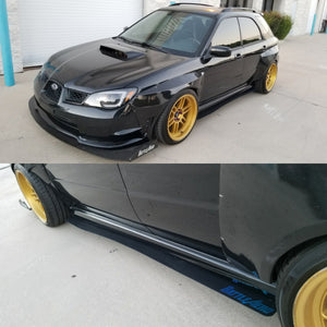 Side Skirt Extensions for 02-07 Subaru WRX / STI (GD)