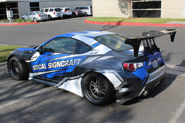 Swan Neck Trunk Mount Wing for FRS / BRZ / GT86