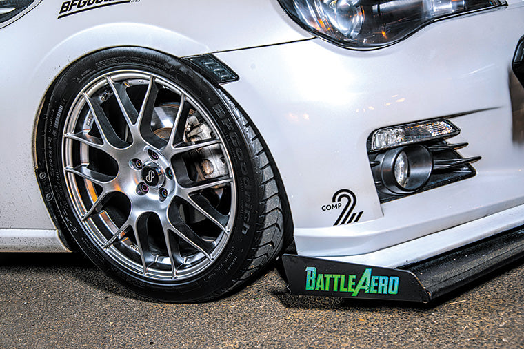 Chassis Mounted Splitter for FRS / BRZ / 86