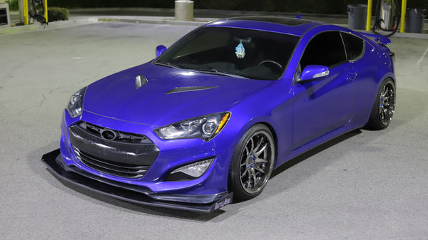 Chassis Mounted Splitter for Hyundai Genesis Coupe (V6 only)
