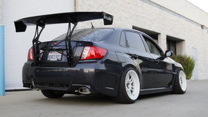 Trunk-Back Mount Wing for 08-14 Subaru Impreza WRX / STI (GV) Sedan