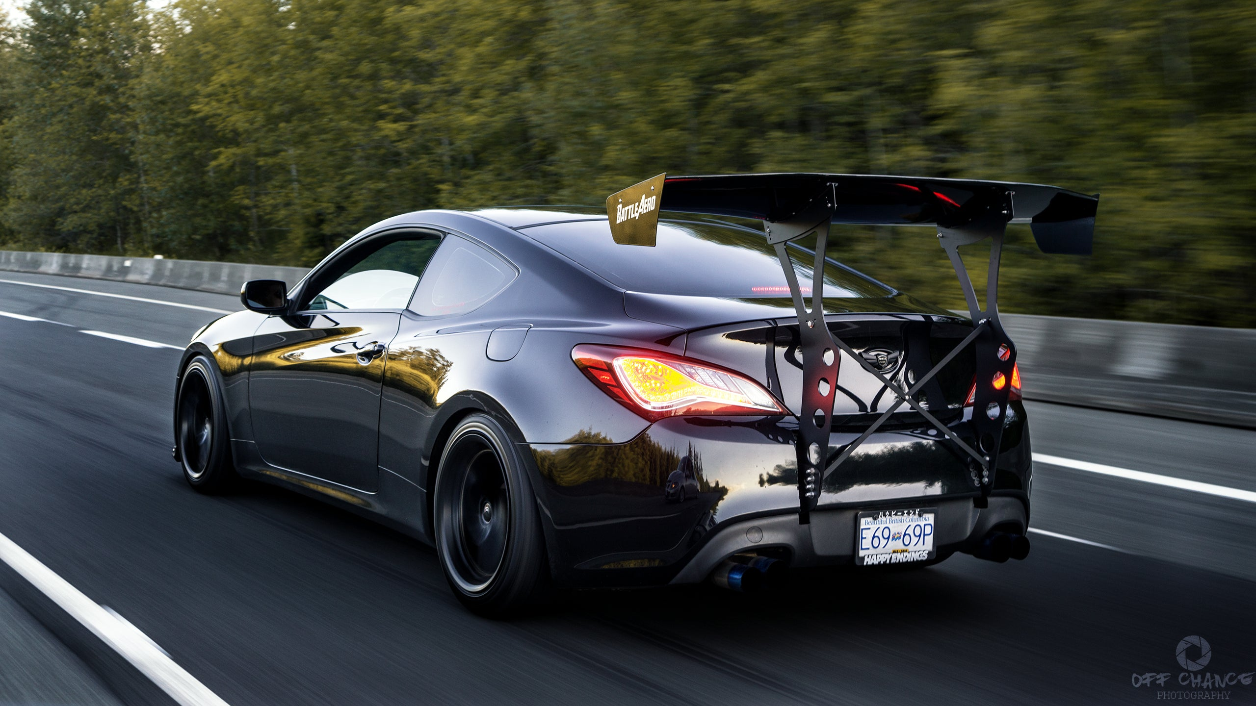 V4 Chassis Mount Kit For Hyundai Genesis Coupe
