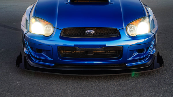 Chassis Mounted Splitter for 02-05 Subaru WRX / STI (GD)