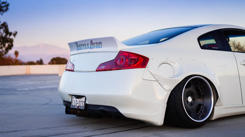 Infiniti G35 Coupe Duck Bill Spoiler