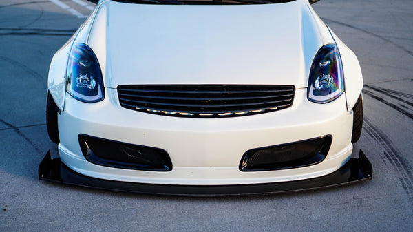 Chassis Mounted Splitter for Infiniti G35 Coupe